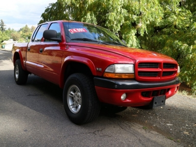 2000 Dodge Dakota Sport 5.9L Quad Cab 4X4 w/ Canopy *Runs Strong!* CALL/TEXT!