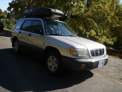2001 Subaru Forester L with Yakima Rocket Box *ONLY $4995!* CALL/TEXT!