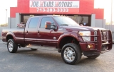 Ford Super Duty F350 - King Ranch- FX4 Off-Road - 4X4! 2012
