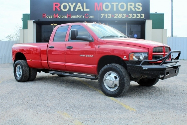 2005 Dodge Ram 3500 LARAMIE - 4X4 - 5.9L Cummins - Dually - 1