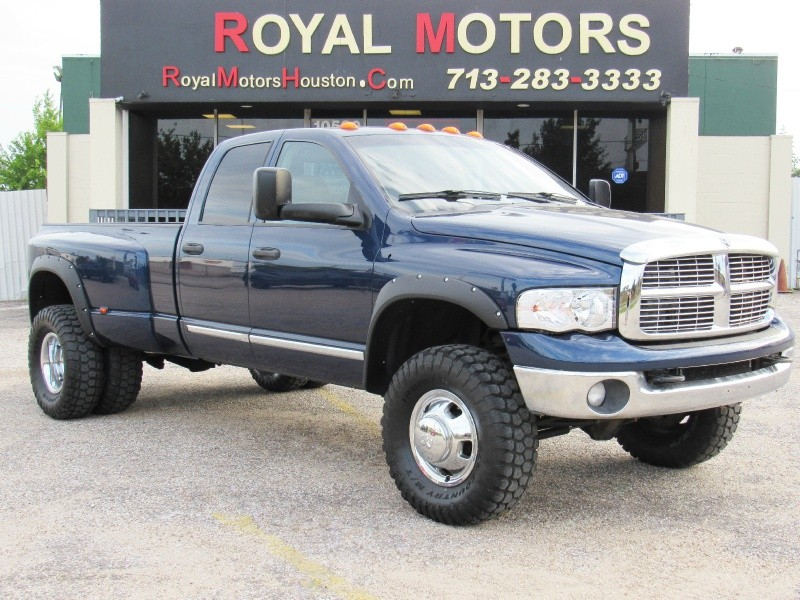 2005 dodge ram 3500 slt 4x4 5 9l cummins lifted 6
