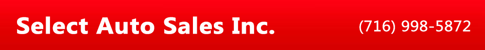 SELECT AUTO SALES INC.. (716) 998-5872