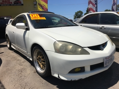 2006 Acura RSX 2dr Cpe Type-S 6-spd MT Leather