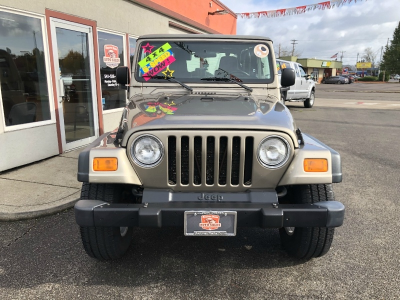 Jeep Wrangler 2004 price $11,880