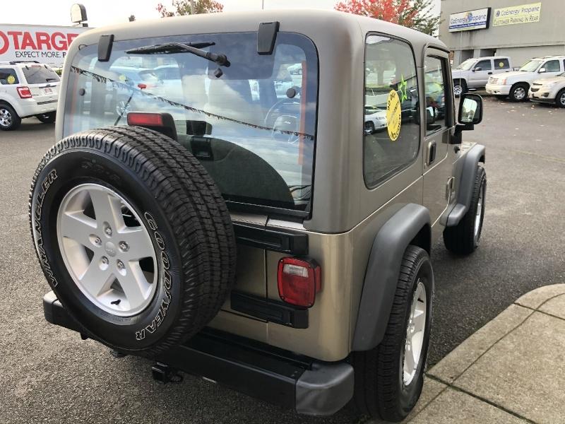 Jeep Wrangler 2004 price $11,880