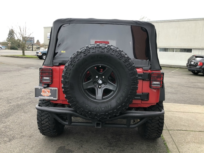 Jeep Wrangler 2011 price $19,880