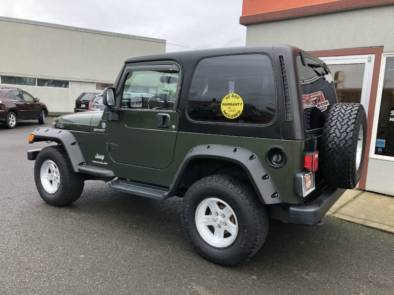 Jeep Wrangler 2006 price $13,880
