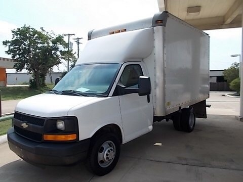 2011 Chevrolet Express Commercial Cutaway
