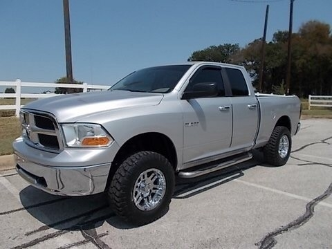 2010 dodge ram 1500 4wd quad cab slt 4x4 lifted inventory gmc leasing auto dealership in. Black Bedroom Furniture Sets. Home Design Ideas