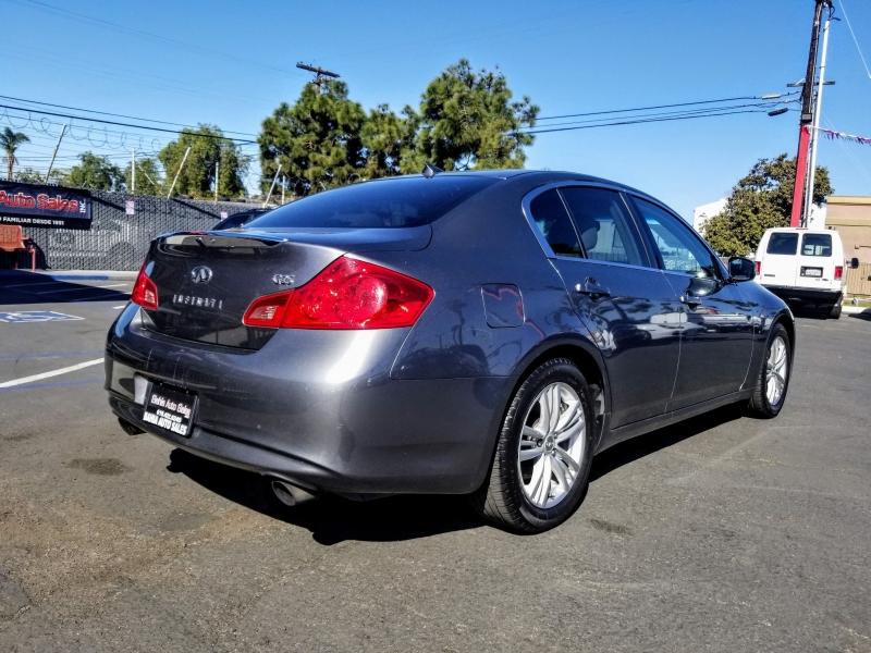 Infiniti G25 Sedan 2012 price $11,988