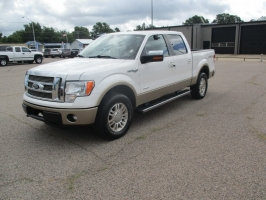 Ford SUPERCREW F-150 KING RANCH 4X4 2012