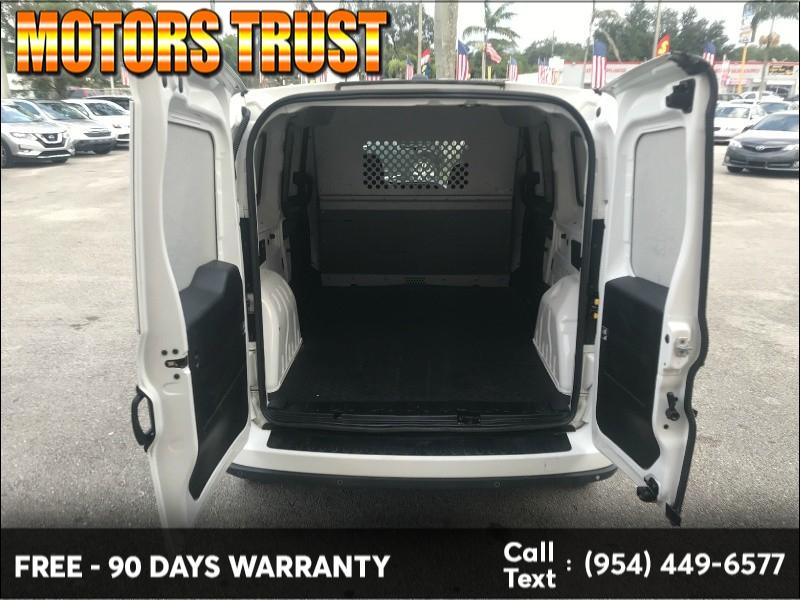 RAM ProMaster City Cargo Van 2016 price $8,900