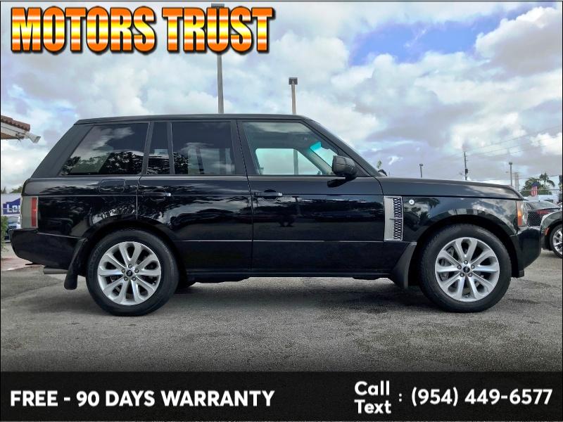 Land Rover Range Rover 2008 price $8,999