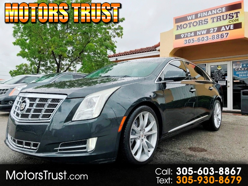 Cadillac XTS 2013 price $11,500