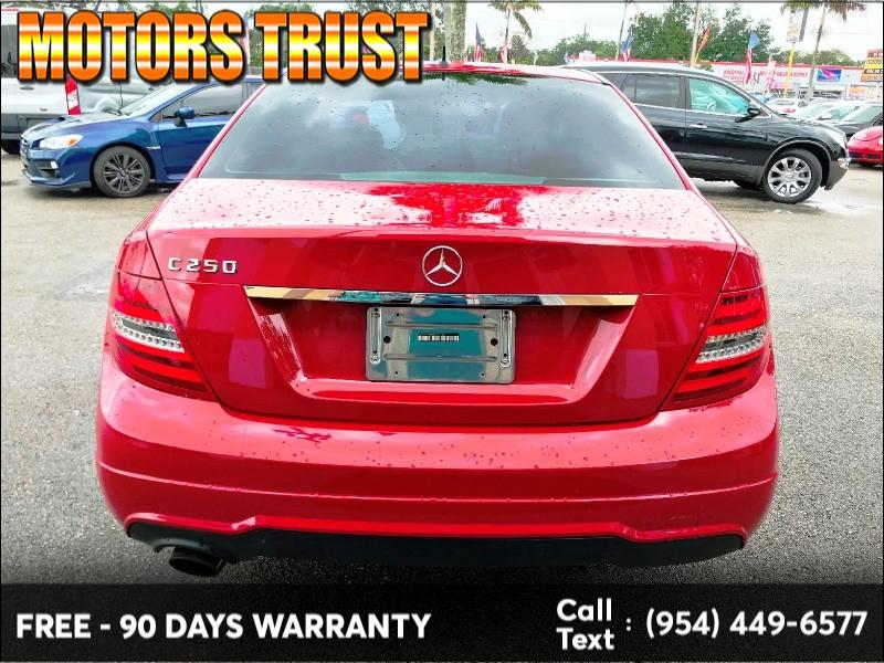 Mercedes-Benz C-Class 2014 price $8,599