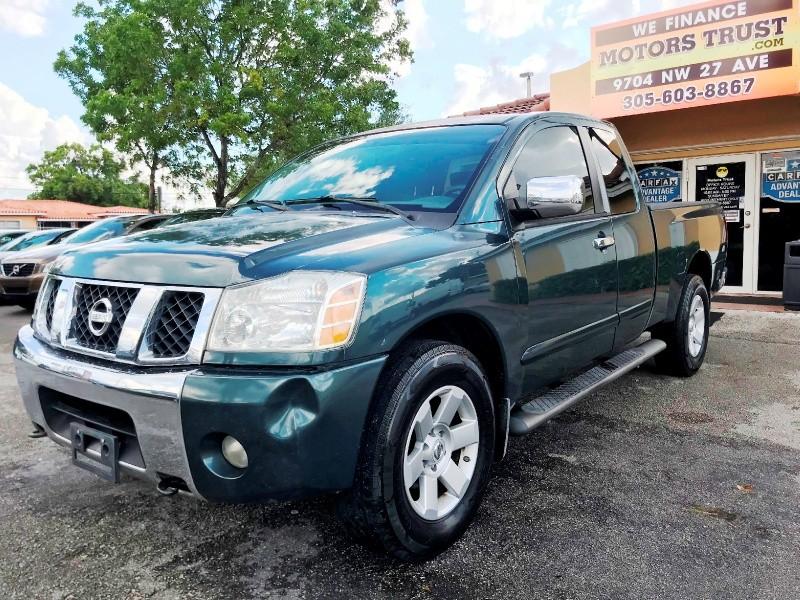 Nissan Titan 2005 price $3,800