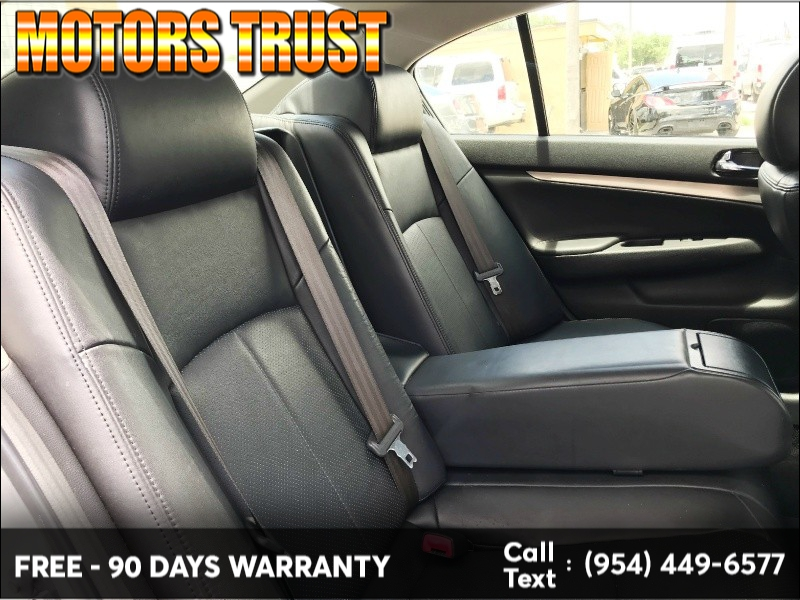 Infiniti G37 Sedan 2013 price $8,499