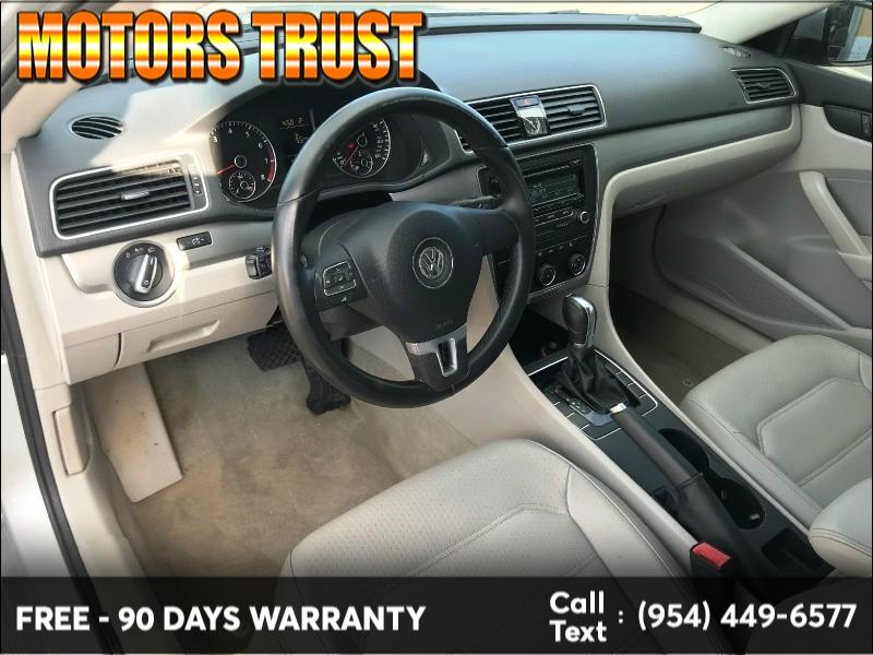 Volkswagen Passat 2014 price $6,699