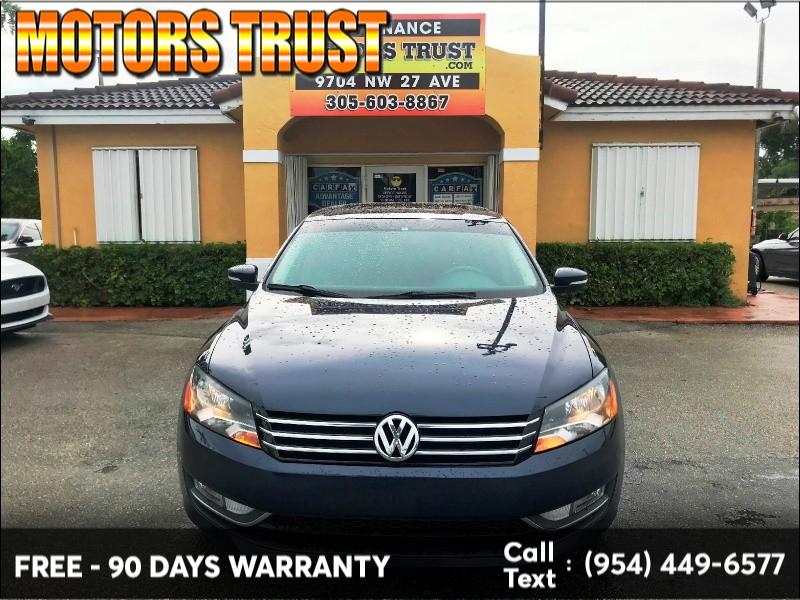 Volkswagen Passat 2015 price $8,899