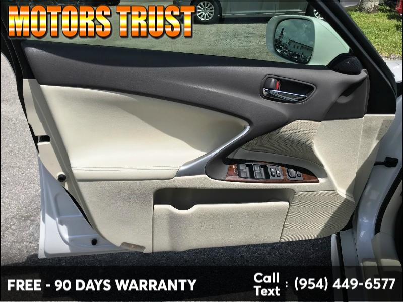 Lexus IS 250 2012 price $9,999
