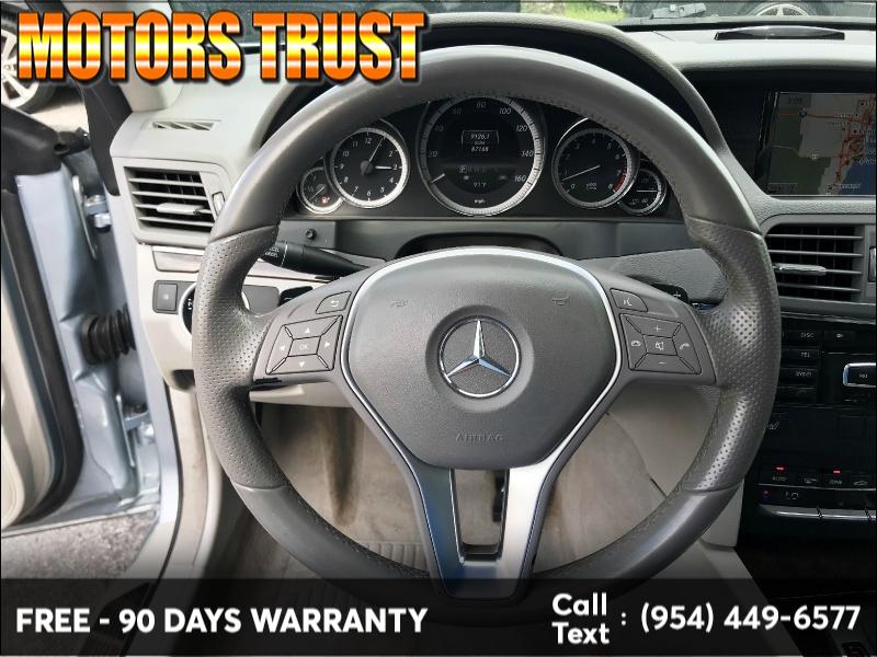 Mercedes-Benz E-Class 2013 price $11,800