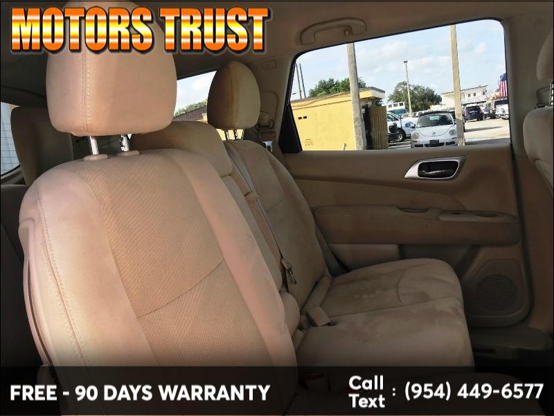 Nissan Pathfinder 2014 price $8,699