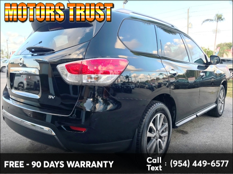 Nissan Pathfinder 2013 price $7,199