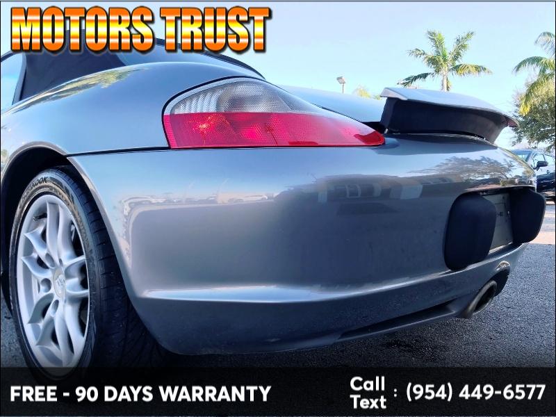 Porsche Boxster 2004 price $6,199