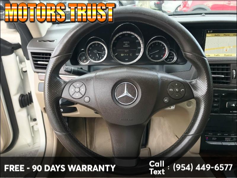 Mercedes-Benz E-Class 2010 price $8,599