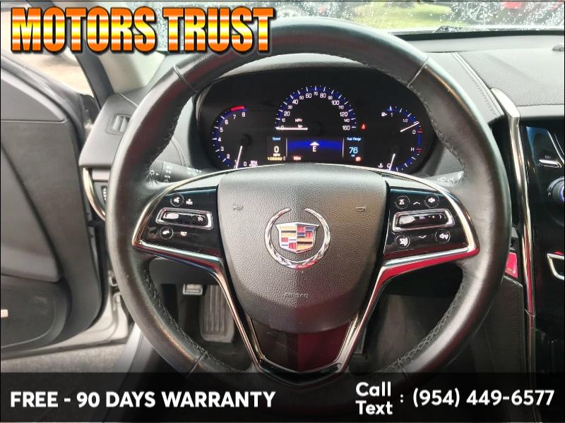 Cadillac ATS 2013 price $7,799