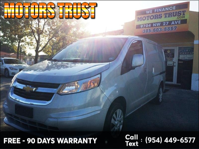 Chevrolet City Express Cargo Van 2015 price $7,899