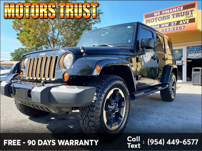 Jeep Wrangler Unlimited 2014 price $21,499