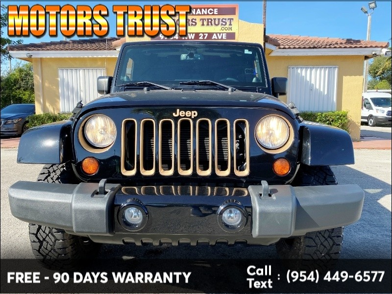 Jeep Wrangler Unlimited 2014 price $23,899