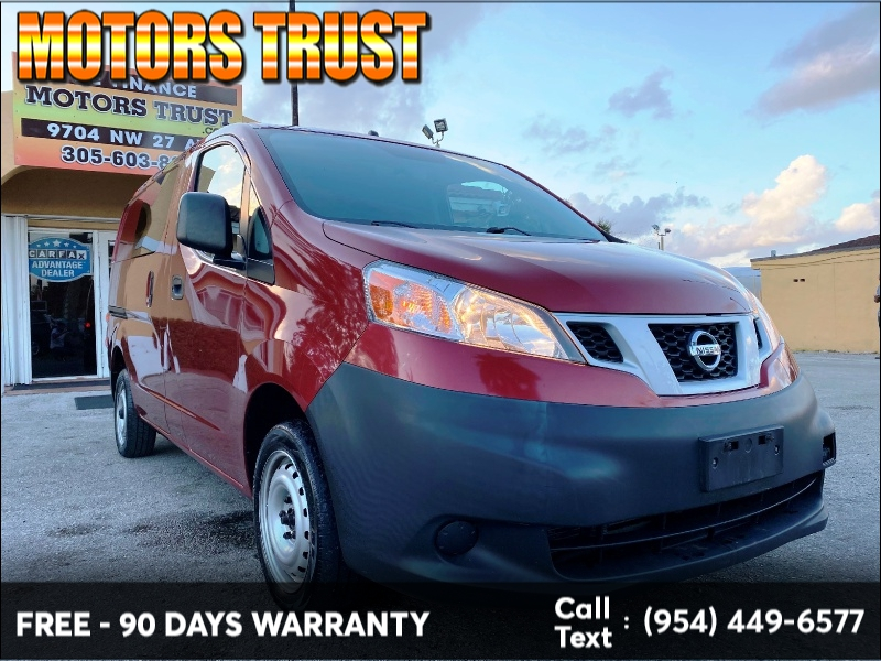Nissan NV200 2015 price $7,199