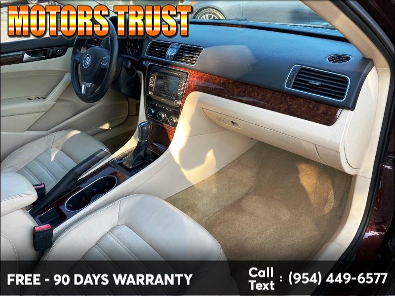 Volkswagen Passat 2013 price $5,699
