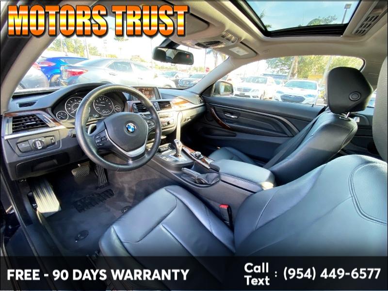 BMW 4 Series 2014 price $10,699