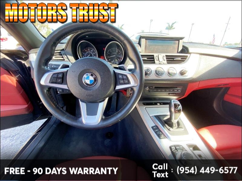 BMW Z4 2013 price $13,499