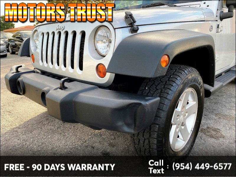 Jeep Wrangler Unlimited 2012 price $12,499