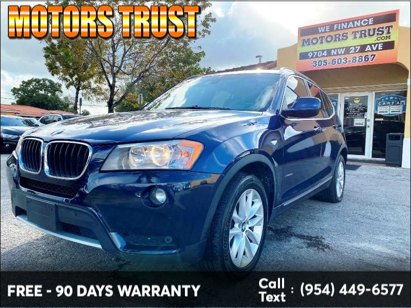 BMW X3 2013 price $7,999