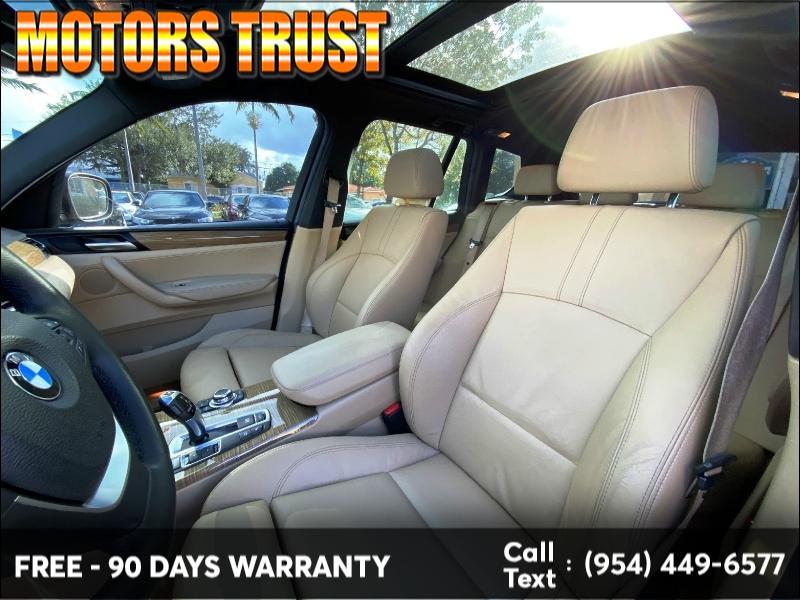 BMW X3 2013 price $8,999