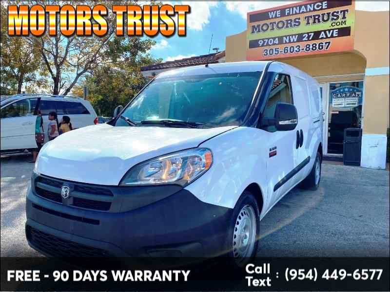 RAM ProMaster City Cargo Van 2016 price $7,299