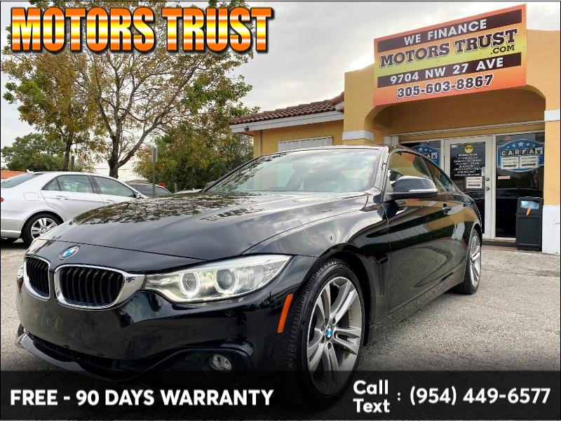 BMW 4 Series 2014 price $9,699