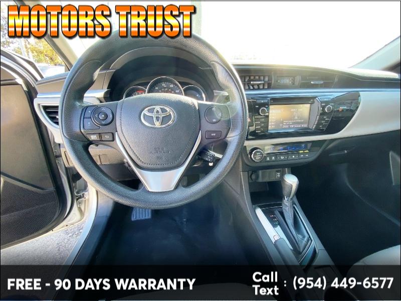 Toyota Corolla 2015 price $8,999