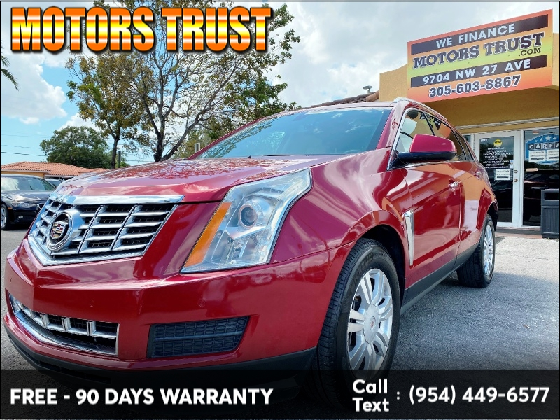 Cadillac SRX 2015 price $8,999