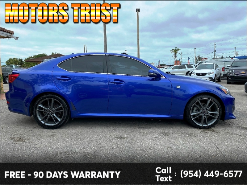 Lexus IS 250 2012 price $10,499