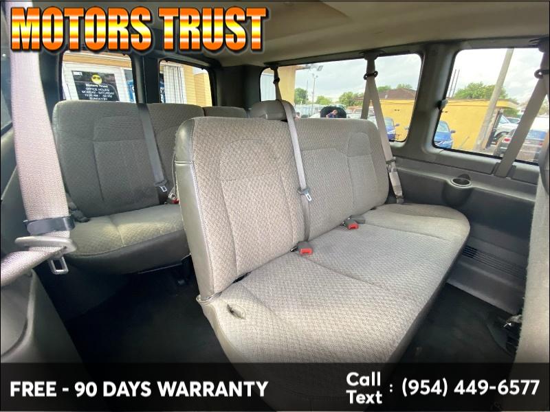 Chevrolet Express Passenger 2016 price $9,199