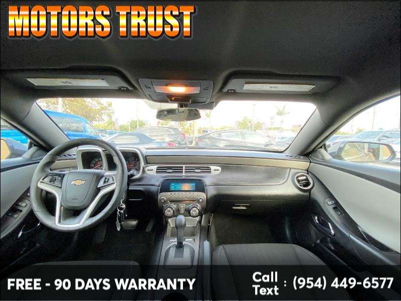 Chevrolet Camaro 2014 price $8,999