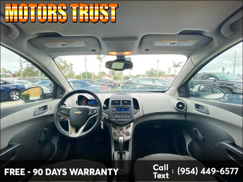 Chevrolet Sonic 2016 price $3,899