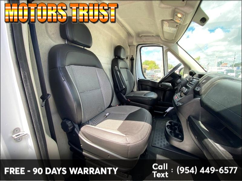 RAM ProMaster Cargo Van 2017 price $16,699