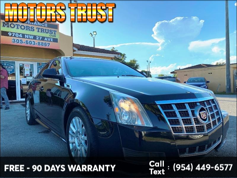 Cadillac CTS Sedan 2012 price $6,499